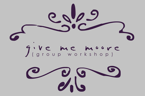 GMM Group Workshop…..2 spots left!(updated…sold out)