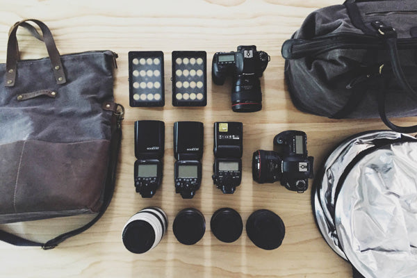 What gear is in Kelly's Camera Bag?
