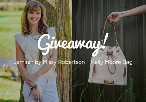 Laminin Designs and Kelly Moore Bag Giveaway