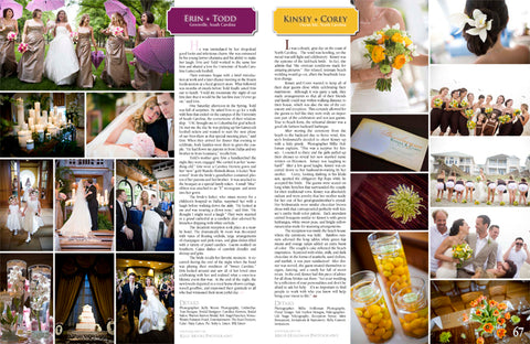 Featured in Southern Weddings Magazine!