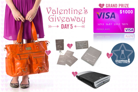 Valentine's Week Giveaway: Day FIVE!!
