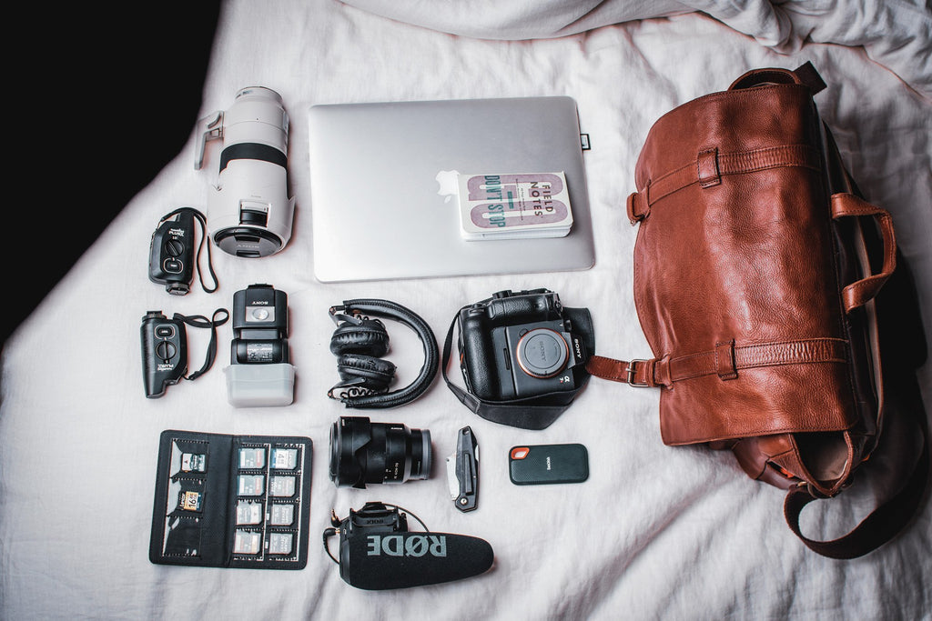 What's In Your Bag With Michael LeBlanc | Kelly Moore Bag