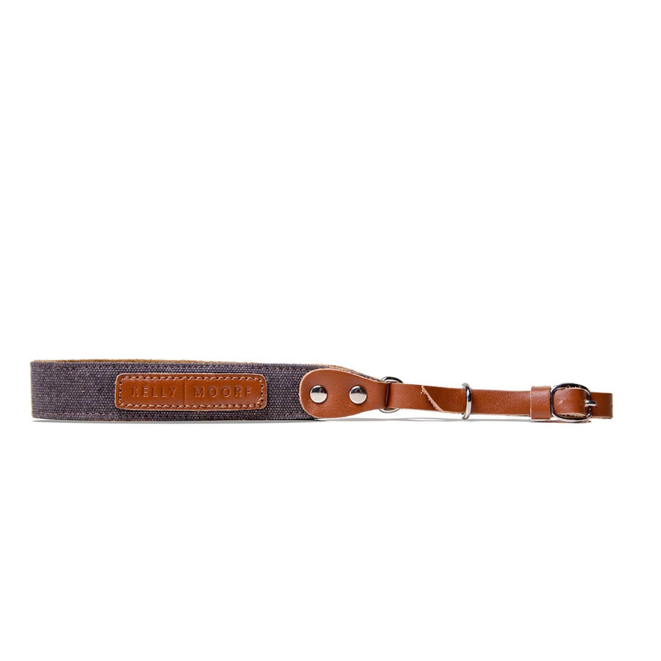 Canvas + Leather Camera Wrist Strap - Kelly Moore Bag