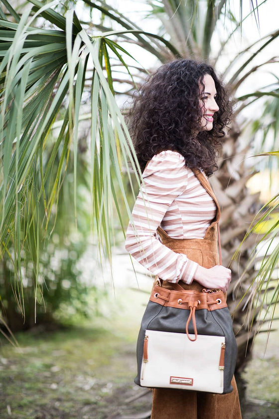The Austin - Vegan Bucket Bag
