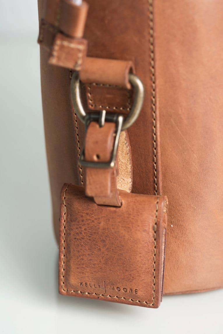 The Leather Lens Case - Kelly Moore Bag