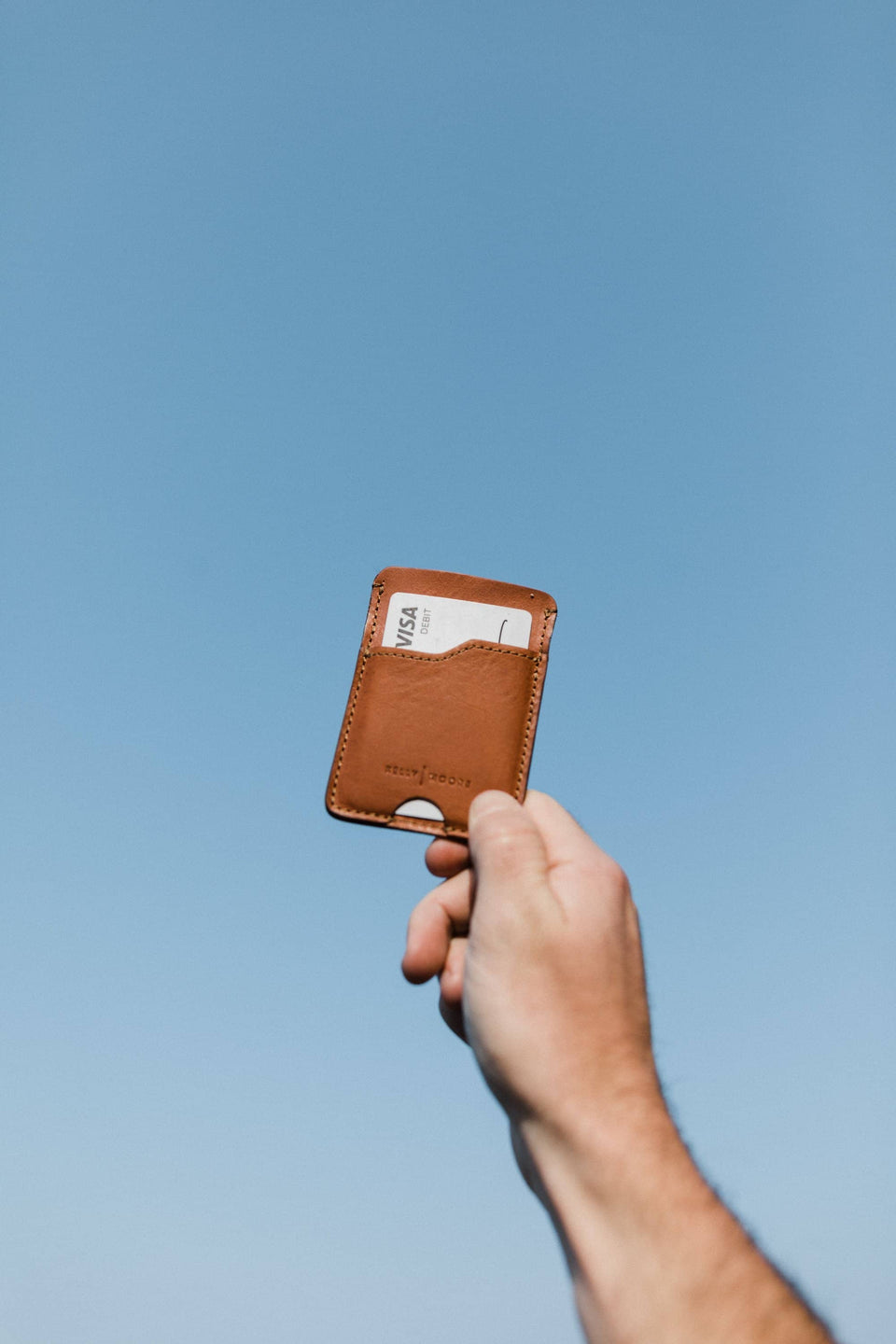The Minimalist Slim Wallet - Leather Wallet - Kelly Moore Bag