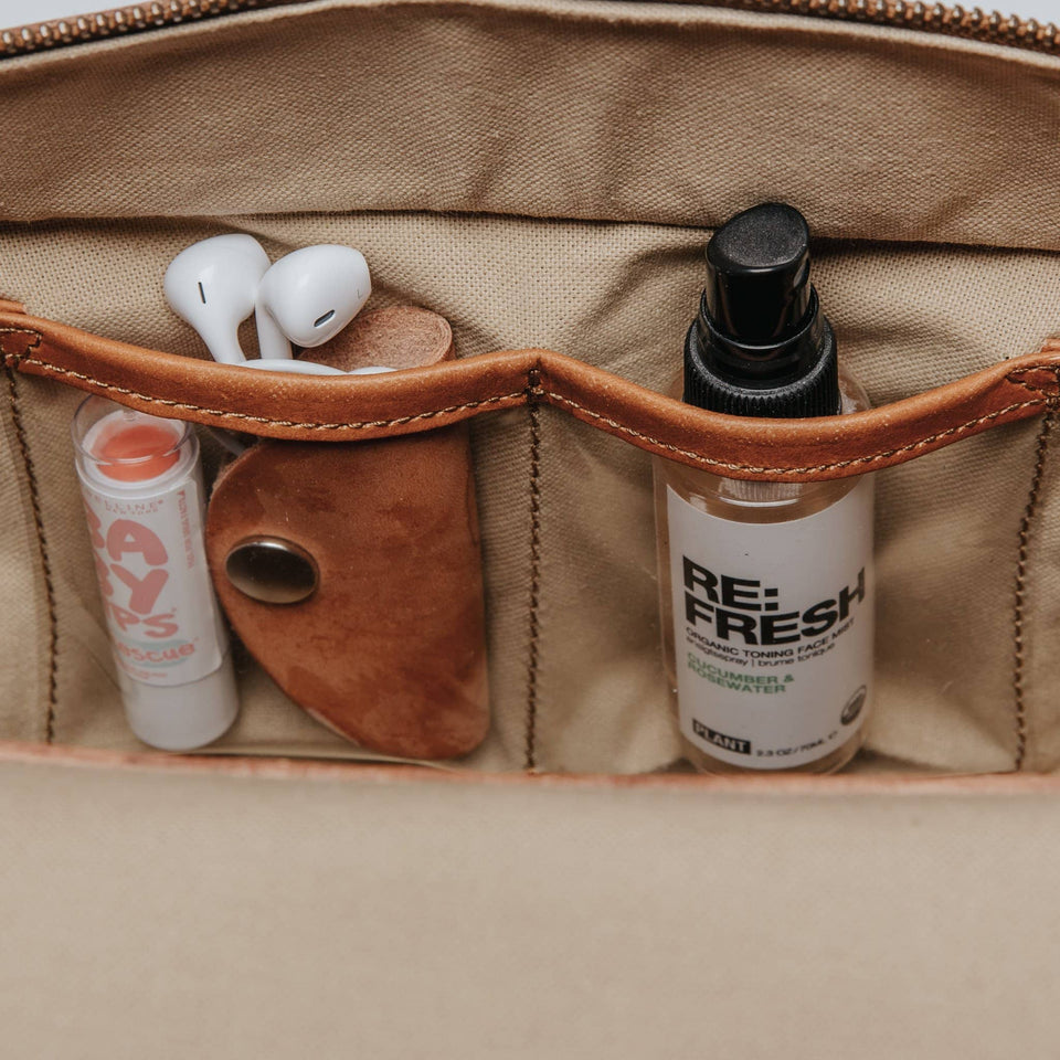 The Scout - Full Grain Leather Messenger - Kelly Moore Bag