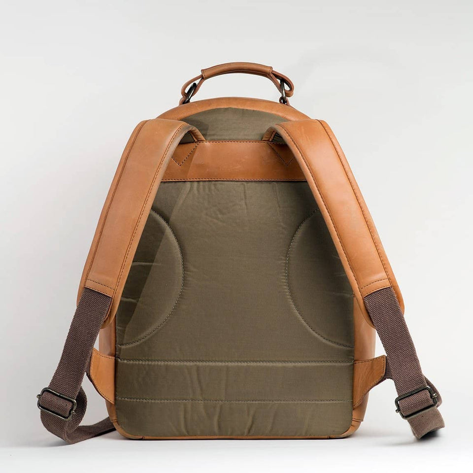 The Tourist - Full Grain Leather Backpack - Kelly Moore Bag