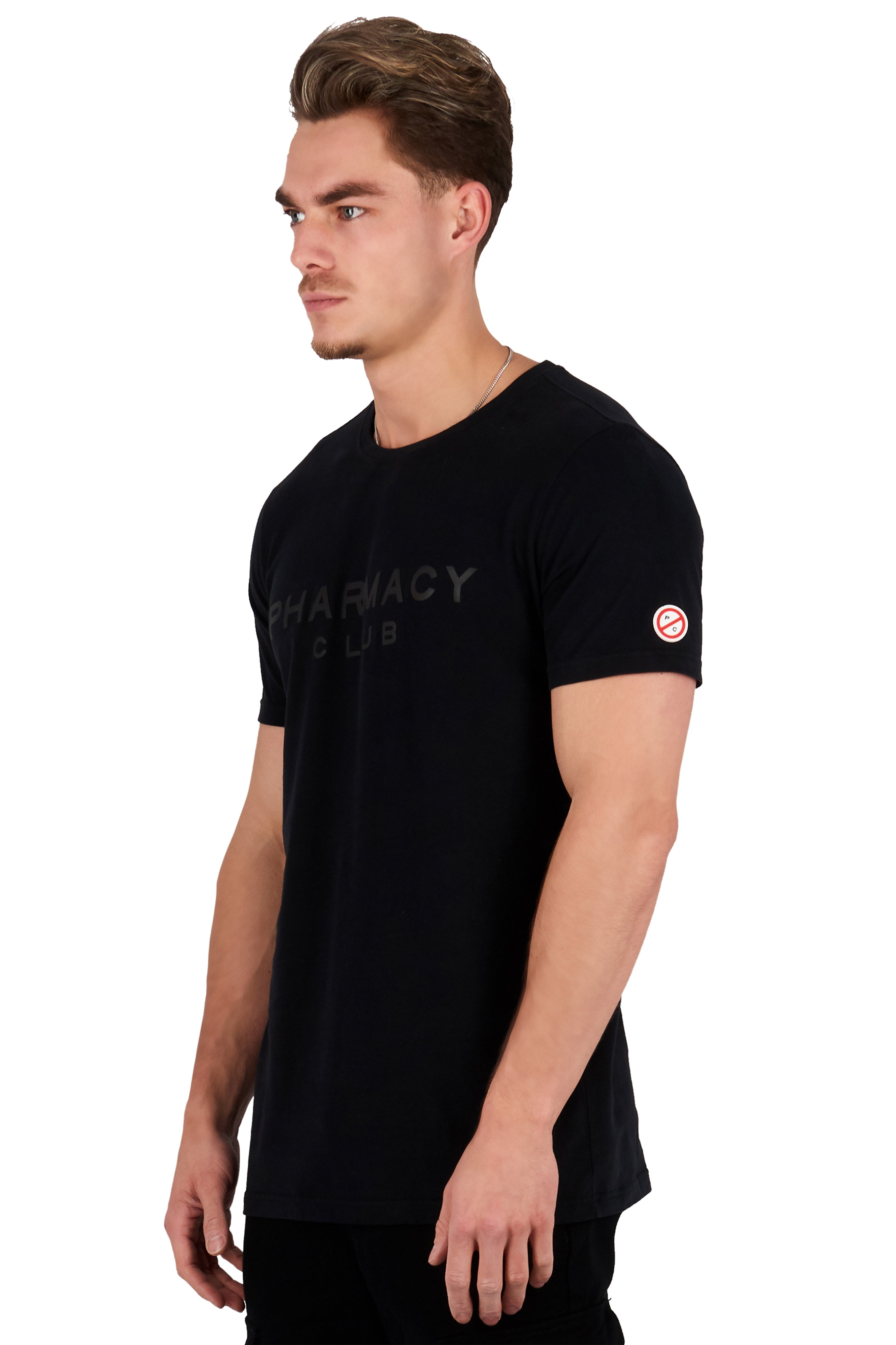 <b>PC105</b><br>T-shirt<br>3D Rubber logo<br>