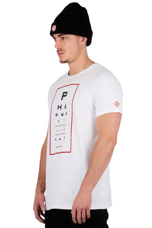 <b>PC110</b><br>T-shirt<br>Optician logo print<br>