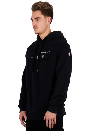 <b>PC201   </b><br>Hoody<br>3D signature logo & reflective print<br>