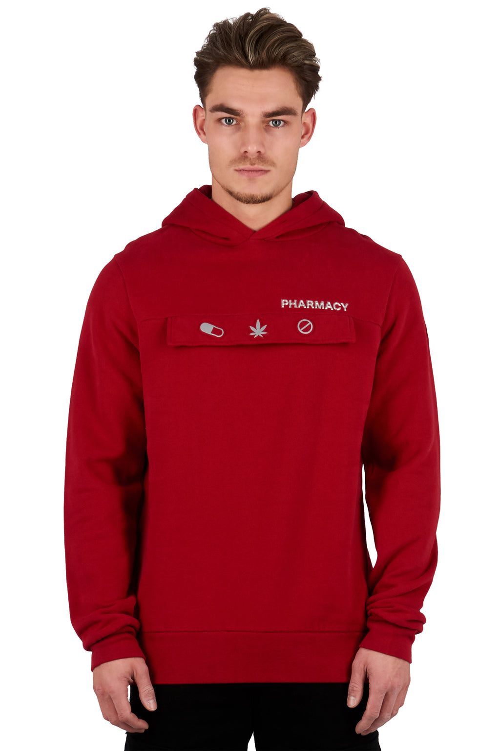 <b>PC201</b><br>Hoody<br>3D signature logo & reflective print<br>