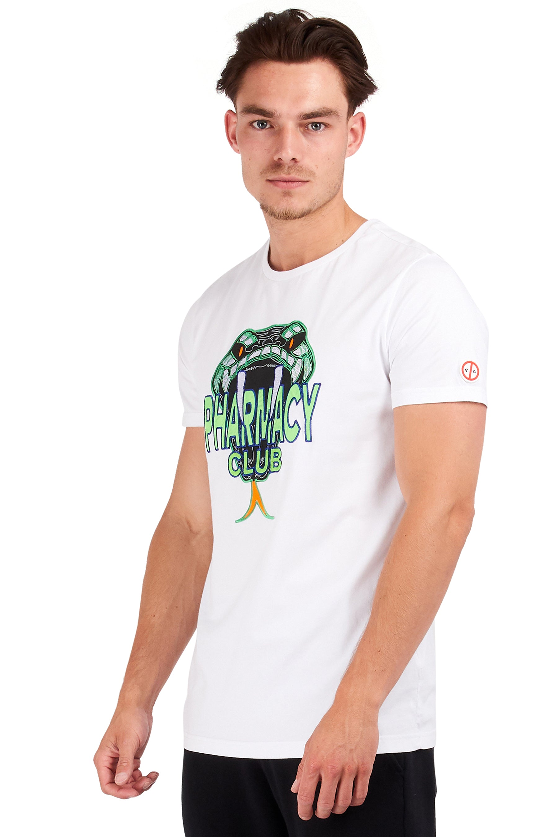 <b>PC115</b><br>T-shirt<br>Snake embroidery<br>
