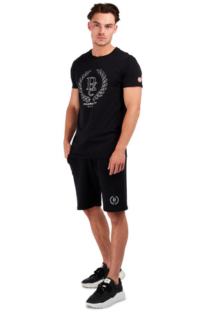 <b>PC303</b><br>shorts<br>sweat shorts with silver hologram<br>
