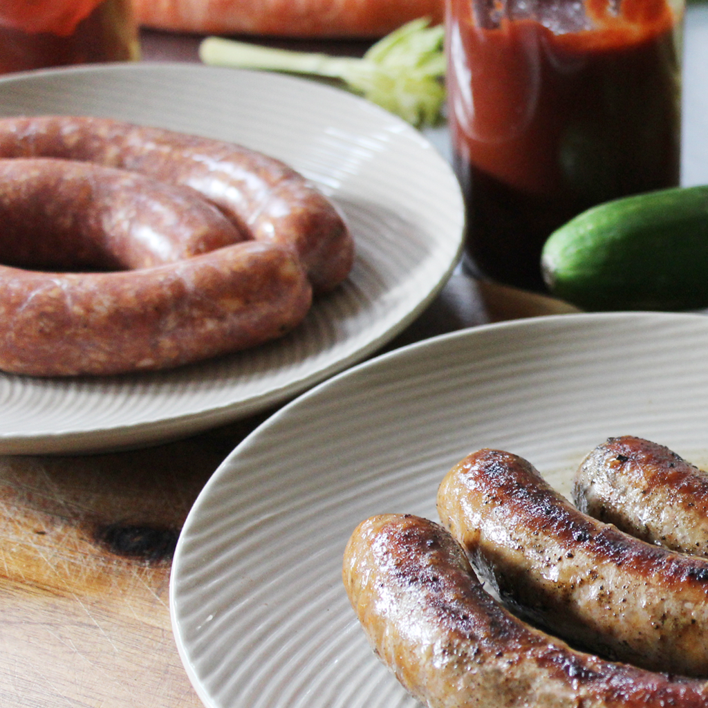 Simply delicious homemade sausage recipe