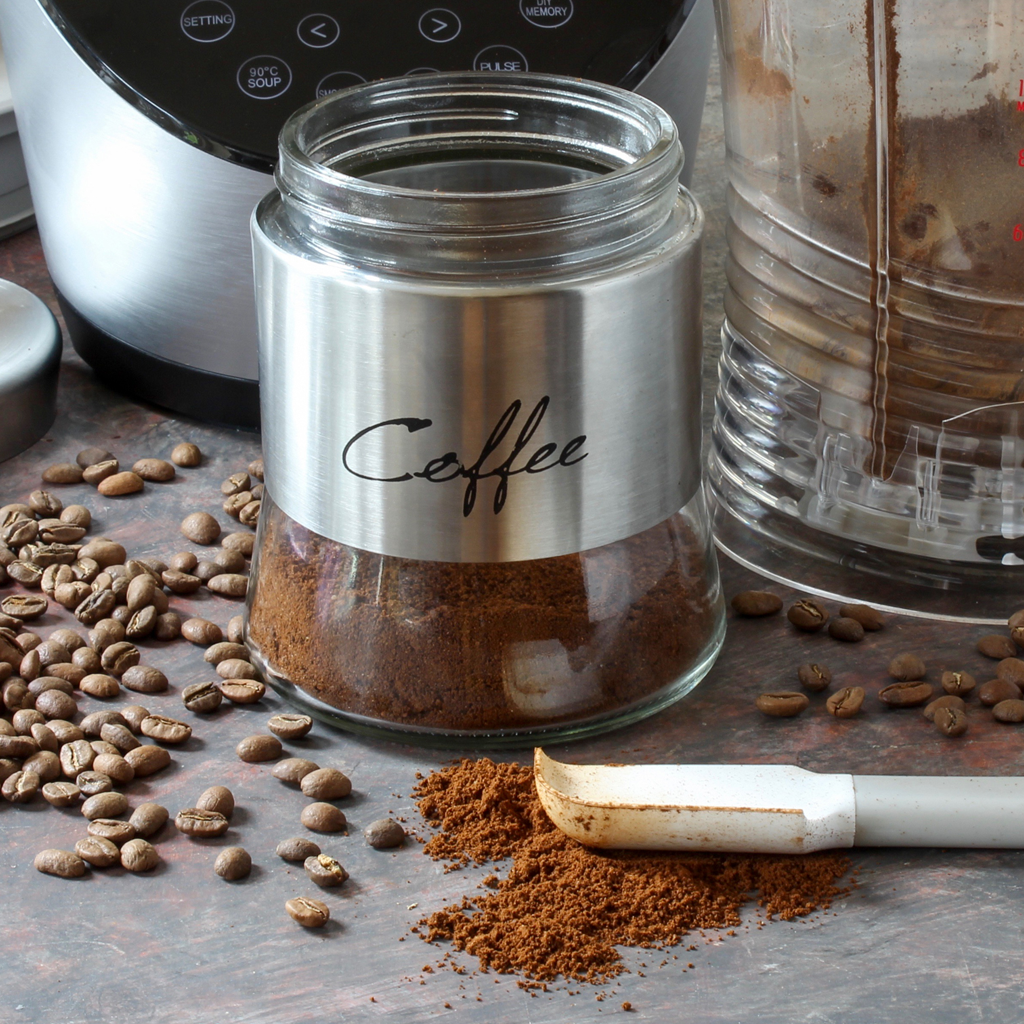 How to grind coffee beans in the Vibe blender