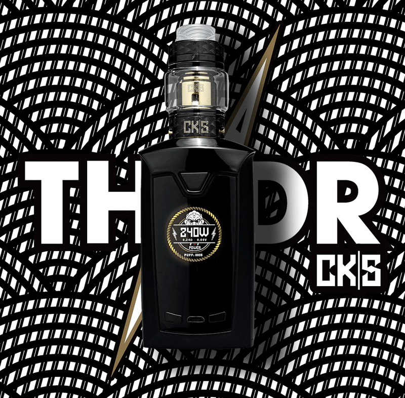 CKS THNDR KIT SALE **$75.65 **240W - SUPPORTS - 18650, 20700, 21700