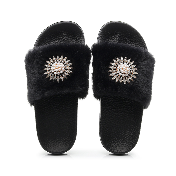 Shoedoes Fashion Fluffy Slippers
