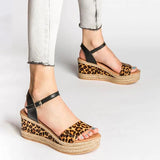 Shoedoes Sexy Printed Women's Sandals Summer Ladies Female Beach Shoes