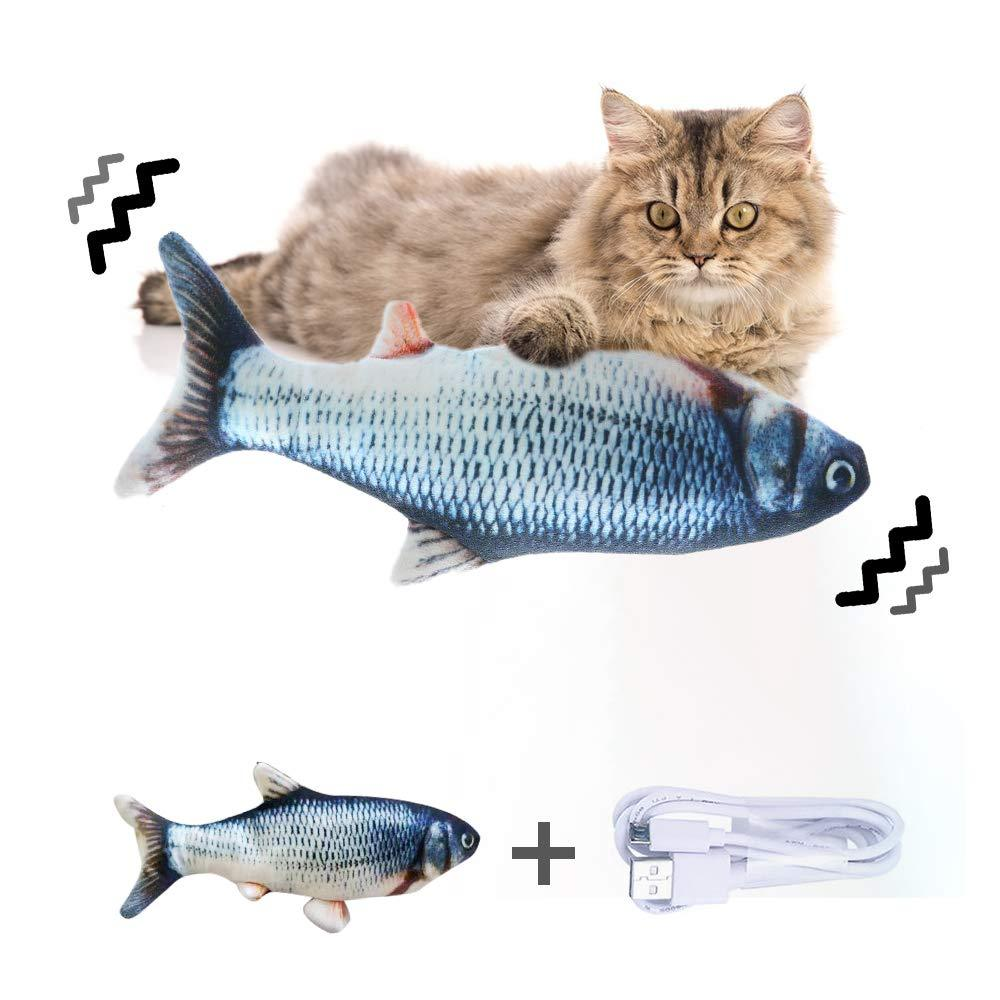 🐱50% OFF! - 3D Simulation Electric Fish Cat Toy 🐟