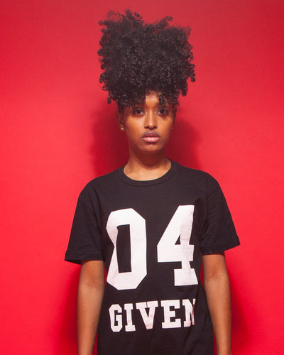 04 GIVEN | Black Unisex T-Shirt