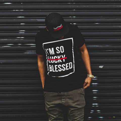 I'm So Blessed Unisex Black T-Shirt
