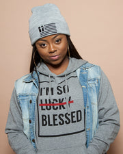 I'm So Blessed Unisex Grey Hoodie