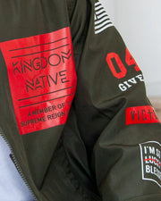 Kingdom Native Bomber Jacket