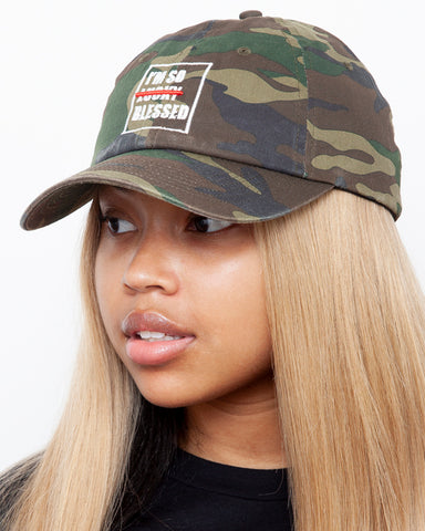I'm so Blessed Camo Hat