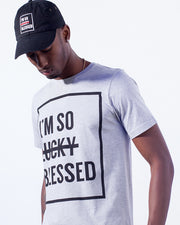 I'm So Blessed Unisex Grey T-Shirt