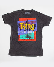 King Vintage Black T-Shirt