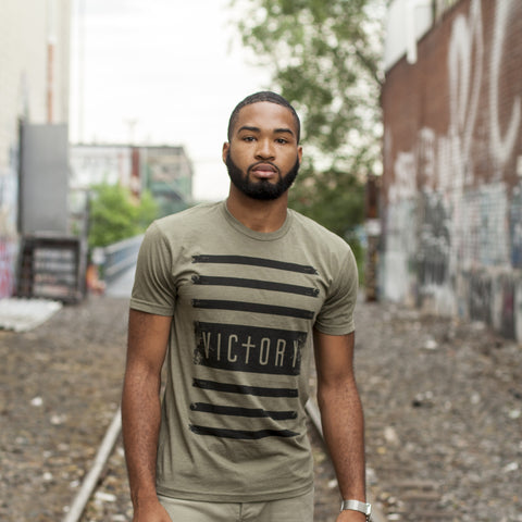 Victory T-Shirt Unisex Green