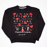 More Than Rubies Women's Black Sweatshirt