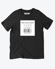 Made in God's Image Black T-Shirt