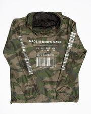 Made In Gods Image Camo Windbreaker