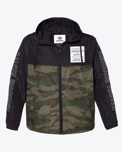 Reign On Me Jacket - Black/Camo