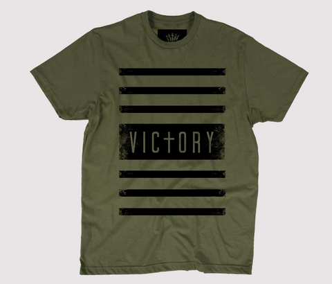 Victory Unisex Green T-Shirt