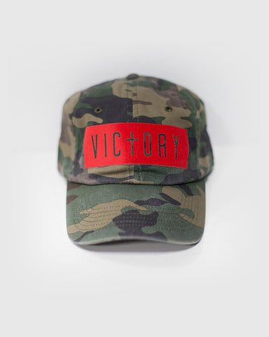 Victory Camo + Red Cap