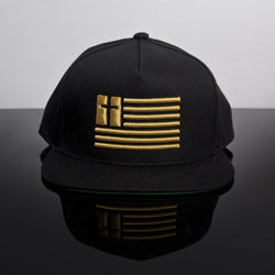 Default Type - Black & Gold United Souls Of America Snapback