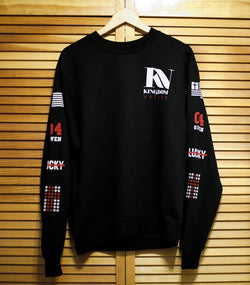Sweater - Kingdom Native Black Sweatshirt