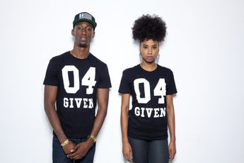 T-Shirt - 04 GIVEN | Black Men's T-Shirt