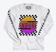 Endure Rally Long Sleeve Grey T-Shirt