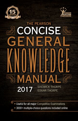 The Pearson Concise General Knowledge Manual 2017