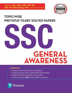 SSC General Awareness Topic-wise Previous Years' Solved Papers