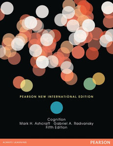 Cognition: Pearson New International Edition