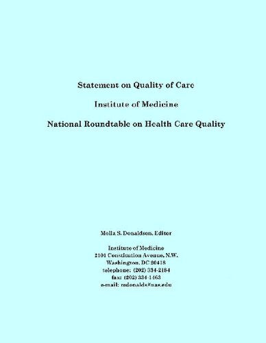 Statement on Quality of Care