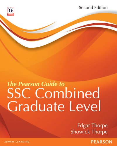 The Pearson Guide to SSC Combined Graduate Level