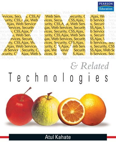 XML and Related Technologies