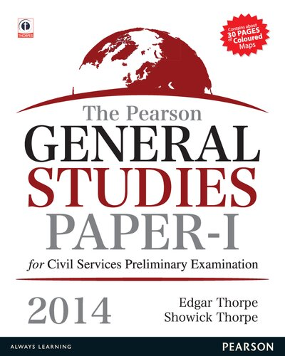The Pearson General Studies for Civil Services Preliminary Examination 2014 Paper I