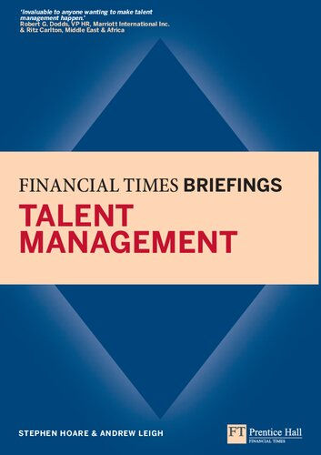 Talent Management: Financial Times Briefing